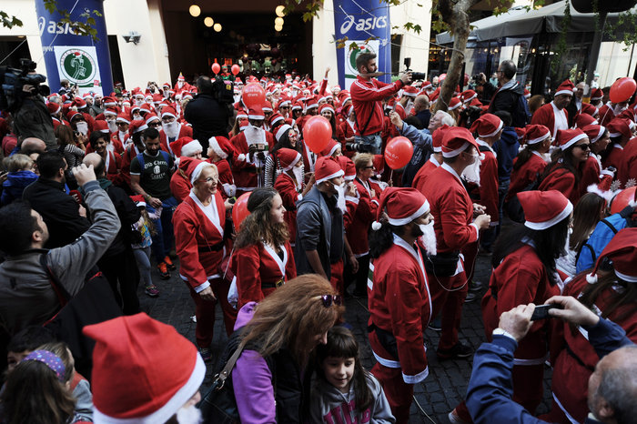 Σήμερα το «2ο Athens Santa Run», κλειστό το κέντρο της Αθήνας - εικόνα 3