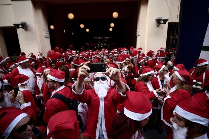 Σήμερα το «2ο Athens Santa Run», κλειστό το κέντρο της Αθήνας - εικόνα 4