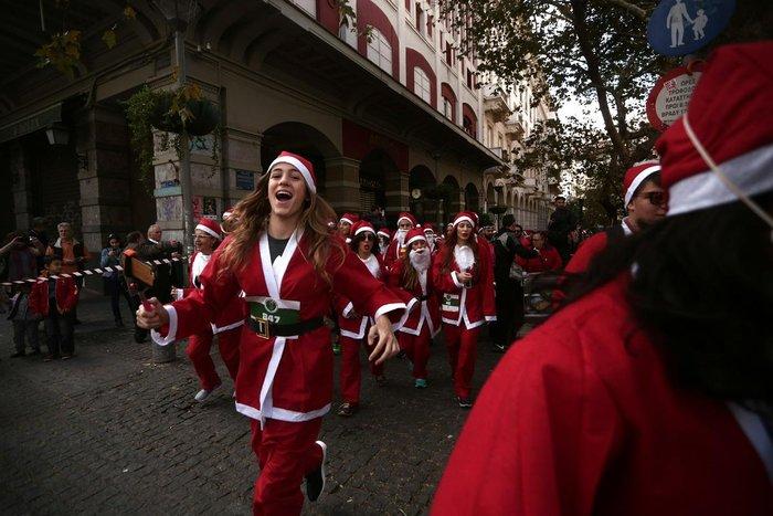 Σήμερα το «2ο Athens Santa Run», κλειστό το κέντρο της Αθήνας - εικόνα 7