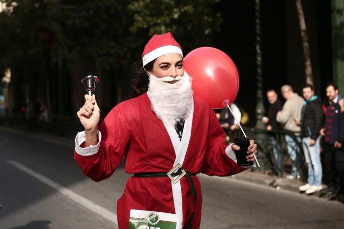 Σήμερα το «2ο Athens Santa Run», κλειστό το κέντρο της Αθήνας - εικόνα 8