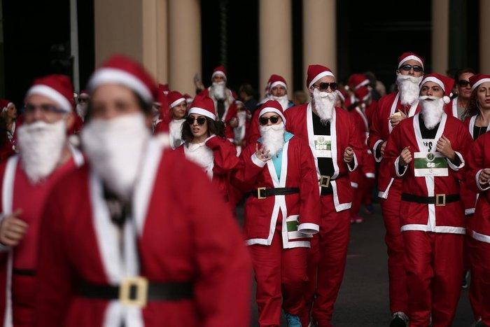 Σήμερα το «2ο Athens Santa Run», κλειστό το κέντρο της Αθήνας - εικόνα 10