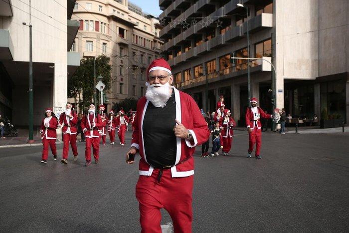 Σήμερα το «2ο Athens Santa Run», κλειστό το κέντρο της Αθήνας - εικόνα 11