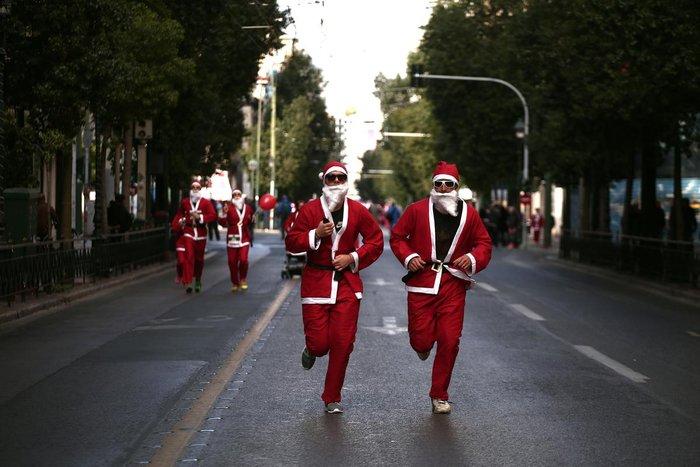 Σήμερα το «2ο Athens Santa Run», κλειστό το κέντρο της Αθήνας - εικόνα 13