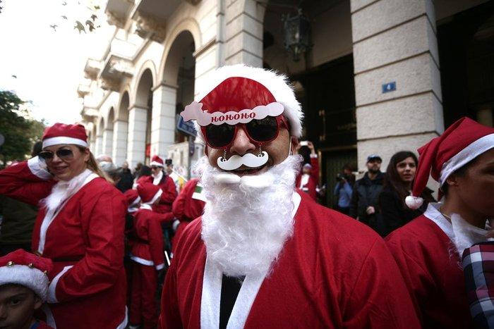 Σήμερα το «2ο Athens Santa Run», κλειστό το κέντρο της Αθήνας - εικόνα 14
