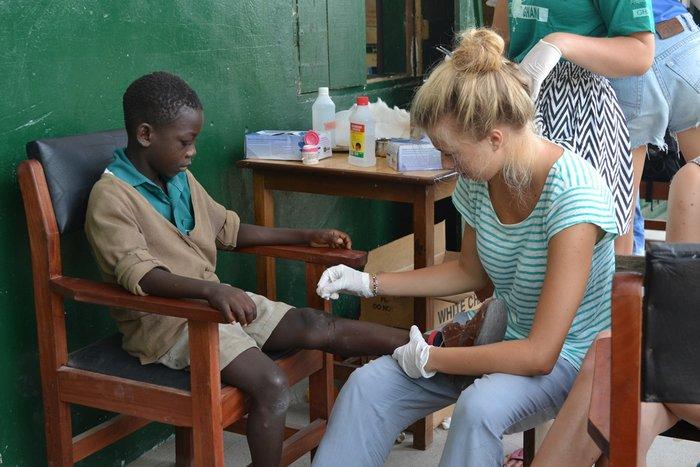 Πρόγραμμα καταπολέμησης του HIV / AIDS, σε νοσοκομεία στην Γκάνα