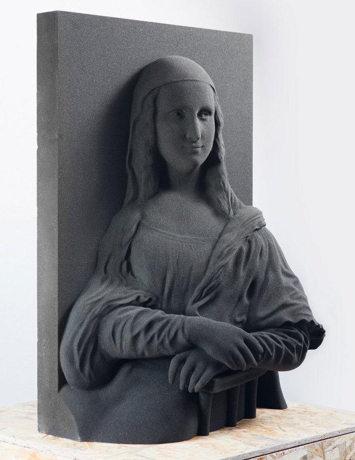 """Τυφλοί """"βλέπουν"""" για πρώτη φορά διάσημα έργα τέχνης"""