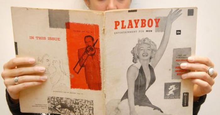 H Μέριλιν Μονρόε στο εξώφυλλο του Playboy 62 χρόνια πριν