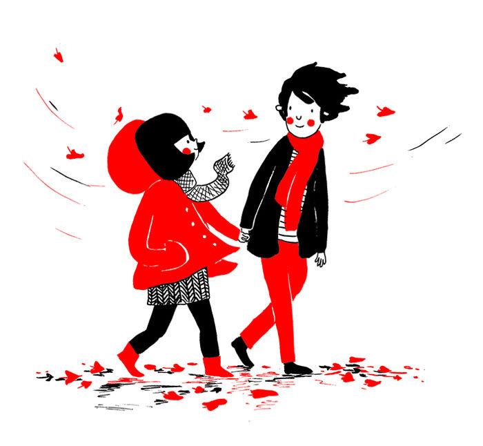 """Ο κρύος φθινοπωρινός αέρας δε σας ενοχλεί αφού οι καρδιές σας είναι """"ζεστές""""..."""