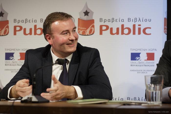 Ο νέος διευθυντής του Γαλλικού Ινστιτούτου Ελλάδας, Mikaël Hautchamp