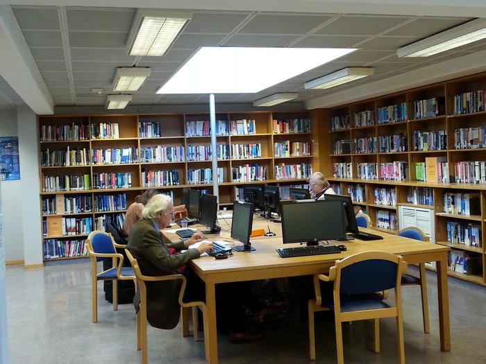 Η βιβλιοθήκη του CERN
