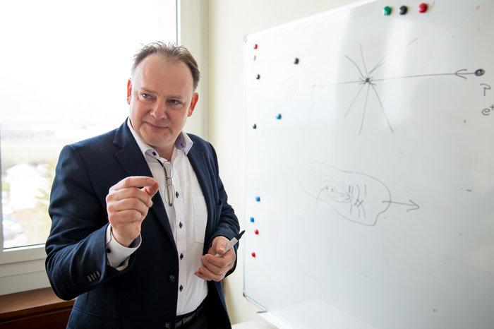 Michael Benedikt - Υπεύθυνος της μελέτης για τους Future Circular Colliders