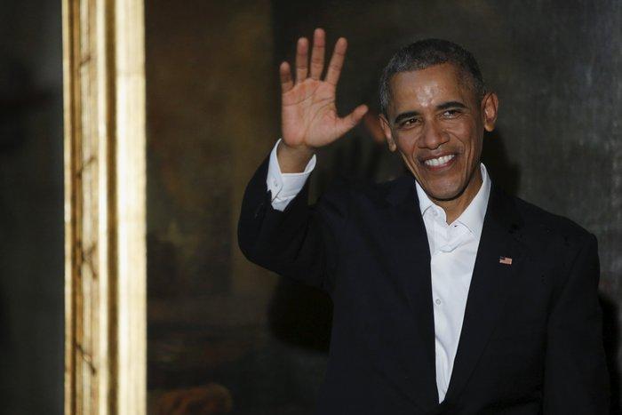 Ο Ομπάμα στην πλατεία της Επανάστασης με τον Τσε Γκεβάρα - εικόνα 17