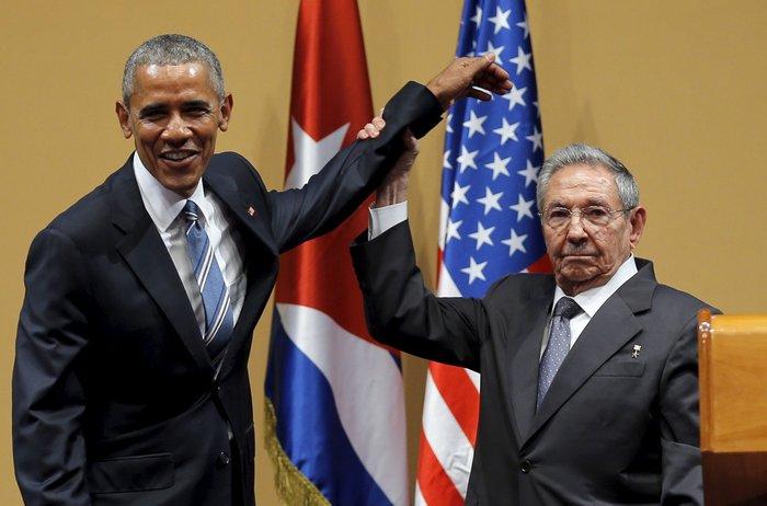 Ο Ομπάμα στην πλατεία της Επανάστασης με τον Τσε Γκεβάρα - εικόνα 5