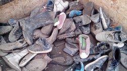 Λιωμένα παπούτσια:τα «όπλα» επιβίωσης των προσφύγων