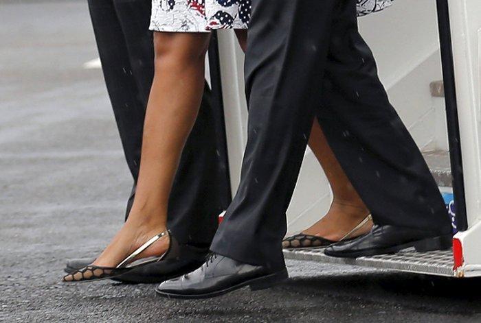 Η επική εμφάνιση της Μισέλ Ομπάμα στην Κούβα με φόρεμα Carolina Herrera - εικόνα 4