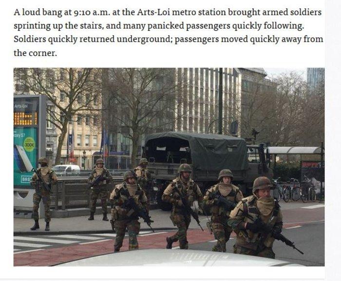 15 νεκροί στους σταθμούς του Μετρό κοντά στην Κομισιόν - εικόνα 2