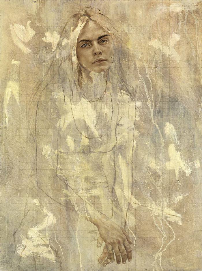 Κάρα Ντελεβίν: Ενα σούπερ μόντελ στο Μουσείο Εθνικής Ιστορίας Δανίας - εικόνα 2
