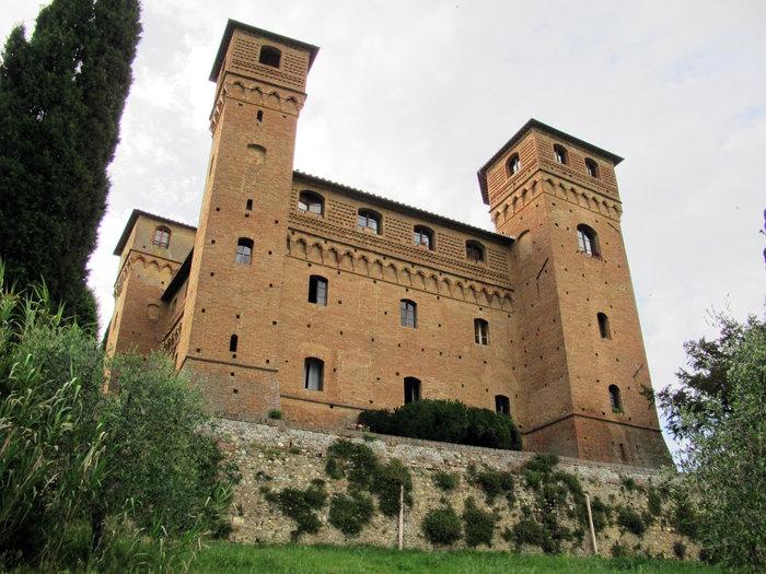 Castello delle quatro torra, Σιένα Ιταλία
