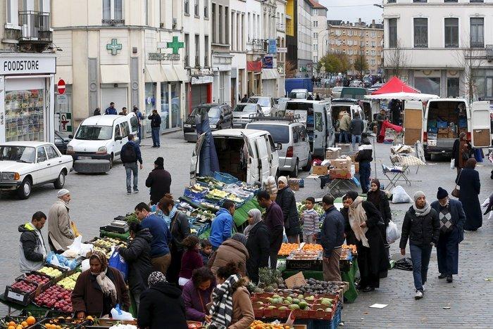 Η συνοικία Μολενμπέκ στις Βρυξέλλες