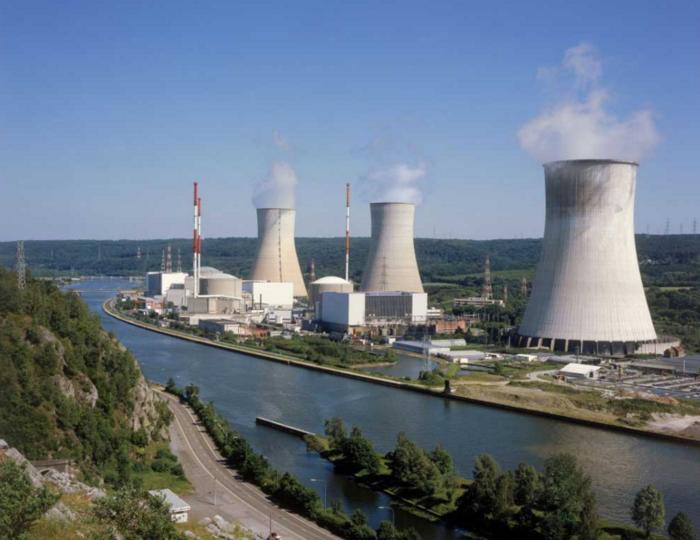 Ο πυρηνικός σταθμός Tihange στο Βέλγιο