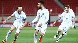 Νίκη της Εθνικής Ελλάδας, πρώτη με Σκίμπε (vd)