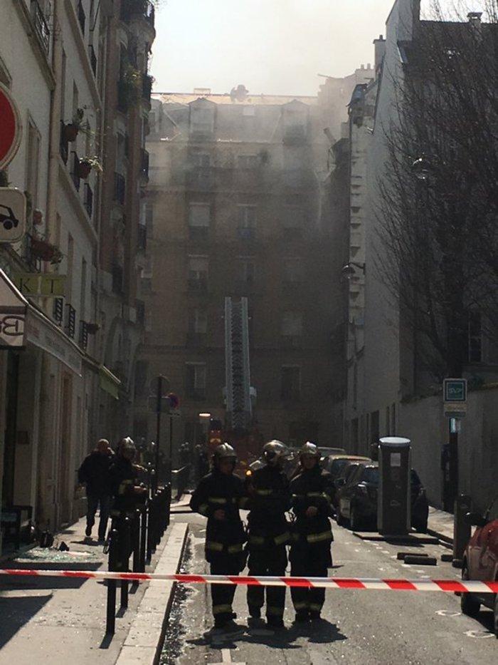 Eκρηξη στο κέντρο του Παρισιού