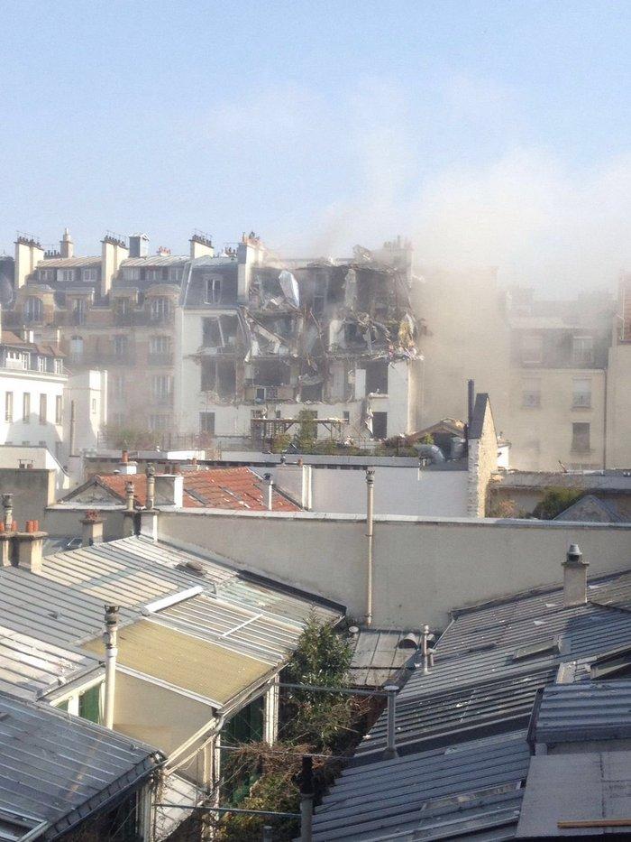 Eκρηξη στο κέντρο του Παρισιού - εικόνα 3