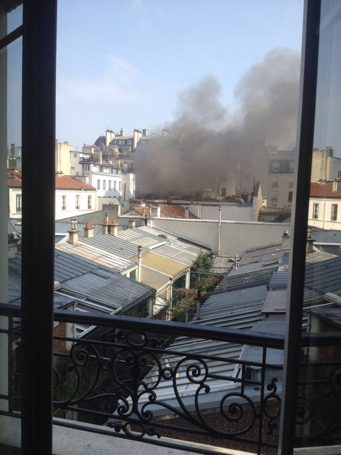 Eκρηξη στο κέντρο του Παρισιού - εικόνα 4