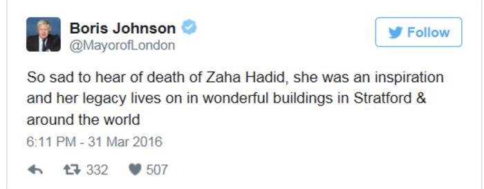 Ζάχα Χαντίντ: Η αρχιτεκτονική κυλούσε στο αίμα της - εικόνα 7
