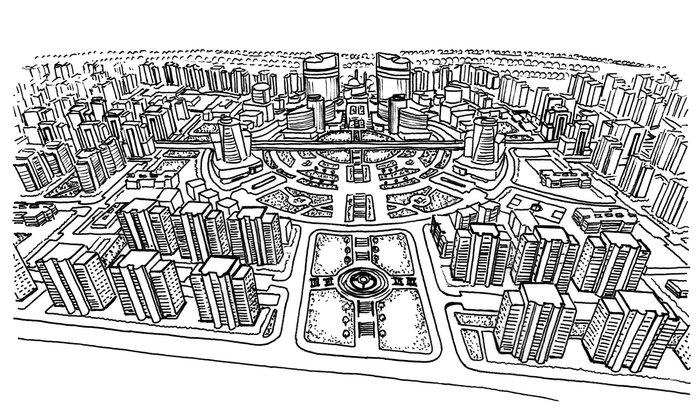 Η αρχιτεκτόνισσα της Χομς που σχεδιάζει στα ερείπια - εικόνα 3