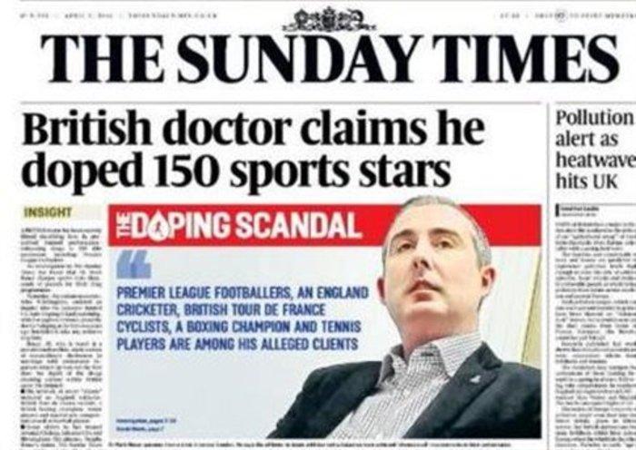 Sunday Times: Μέγα σκάνδαλο με ντοπαρισμένους παίκτες της Premier League