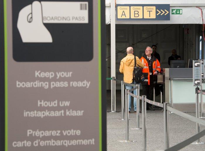 Στρατοκρατούμενο άνοιξε το αεροδρόμιο των Βρυξελλών