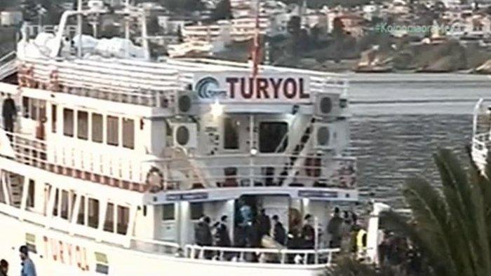 Υπό δρακόντεια μέτρα η πρώτη επαναπροώθηση μεταναστών στην Τουρκία