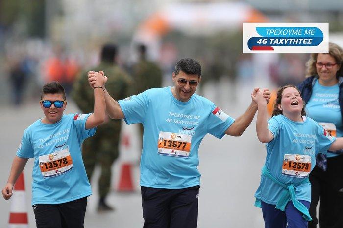 H WIND Running Team στον 11ο Διεθνή Μαραθώνιο Μέγας Αλέξανδρος Θεσσαλονίκης