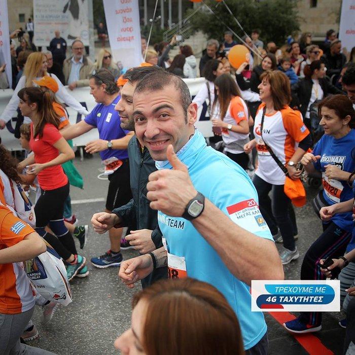 H WIND Running Team στον 11ο Διεθνή Μαραθώνιο Μέγας Αλέξανδρος Θεσσαλονίκης - εικόνα 3