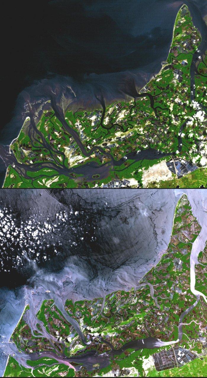 20 εκπληκτικές εικόνες της γης από το διάστημα, για 1η φορά στη δημοσιότητα - εικόνα 9