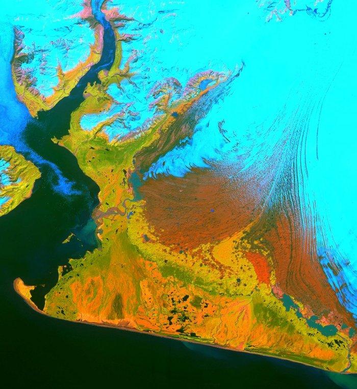 20 εκπληκτικές εικόνες της γης από το διάστημα, για 1η φορά στη δημοσιότητα - εικόνα 11