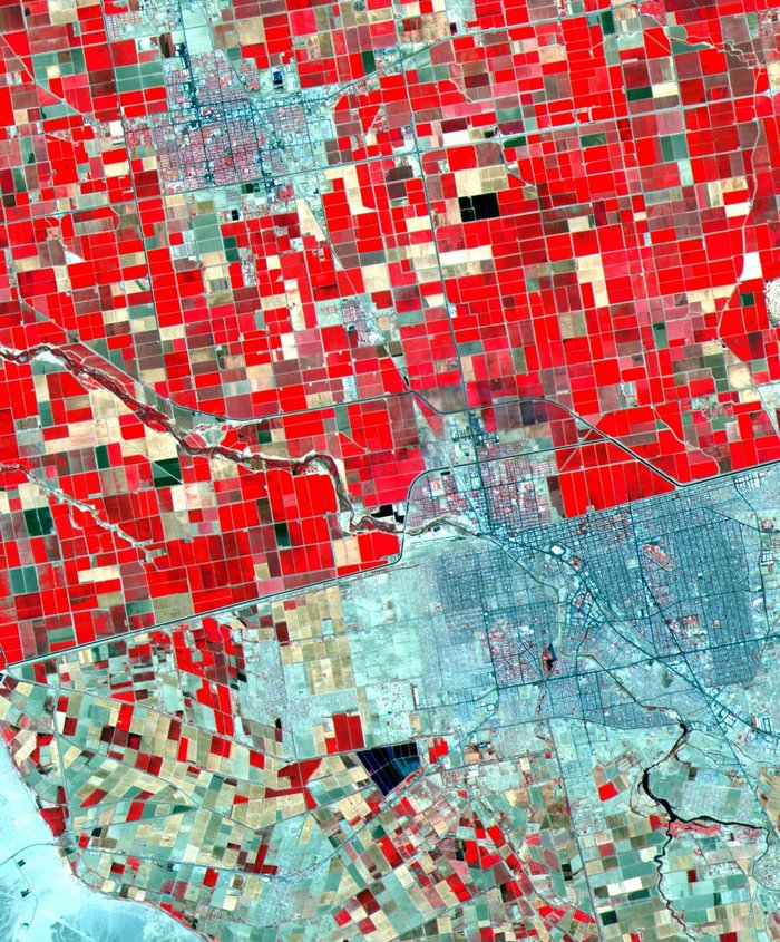 20 εκπληκτικές εικόνες της γης από το διάστημα, για 1η φορά στη δημοσιότητα - εικόνα 19