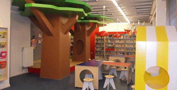 Η υπέροχη βρεφική βιβλιοθήκη της Αθήνας