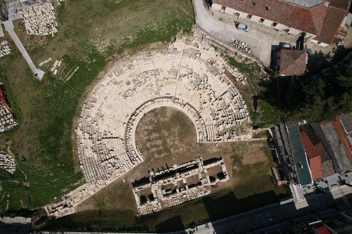 Ανοιχτό στο κοινό το αρχαίο θέατρο Λάρισας