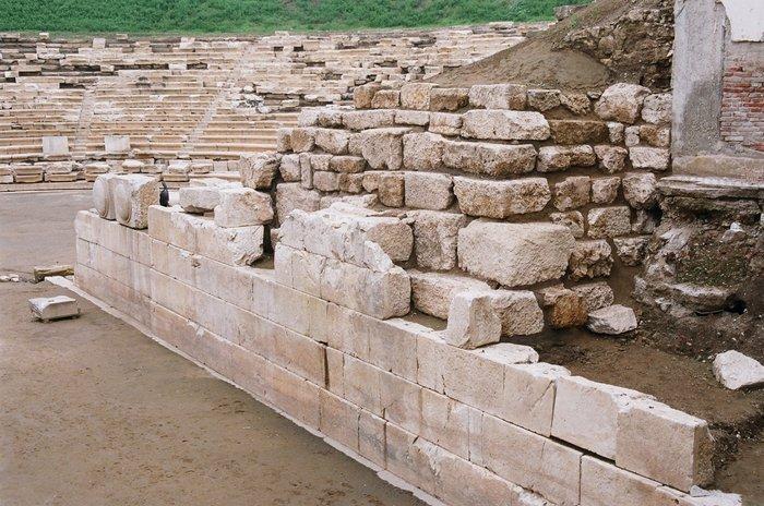 Ανοιχτό στο κοινό το αρχαίο θέατρο Λάρισας - εικόνα 3