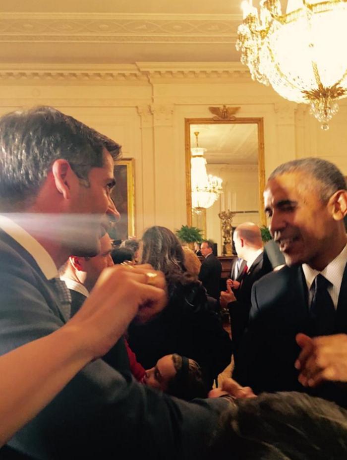 Ο Κώστας Μπακογιάννης και πάλι με τον πρόεδρο Ομπάμα