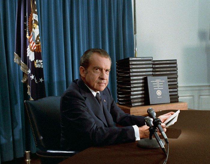 Ο πρώην πρόεδρος των ΗΠΑ Ρίτσαρντ Νίξον