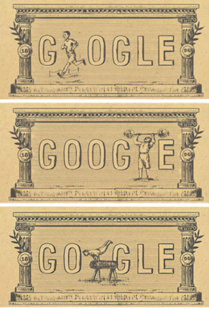 Google doodle για τους Ολυμπιακούς Αγώνες