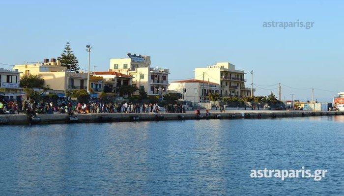 Εδεσε το «Νήσος Μύκονος» στο λιμάνι της Χίου