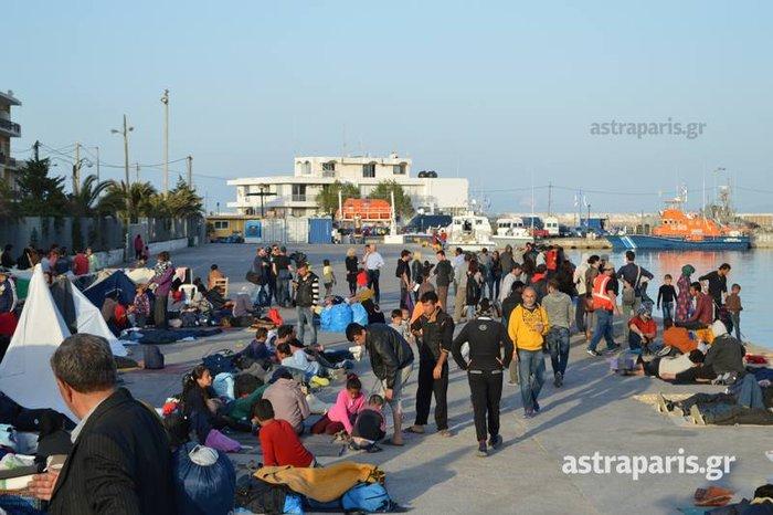 Εδεσε το «Νήσος Μύκονος» στο λιμάνι της Χίου - εικόνα 2