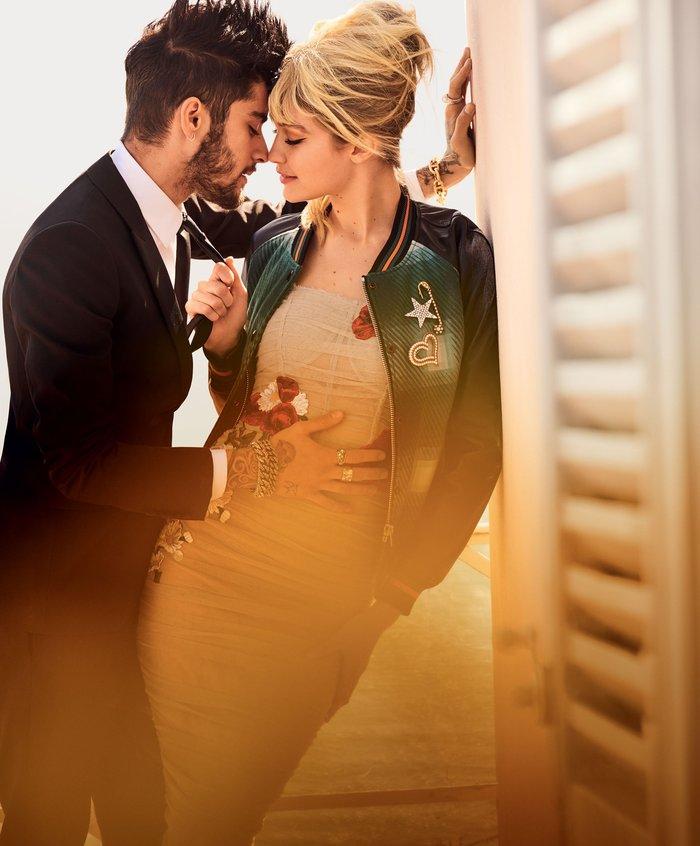 Η Τζίτζι Χαντίντ ερωτοτροπεί σε μια ανατρεπτική φωτογράφιση στη Vogue - εικόνα 5