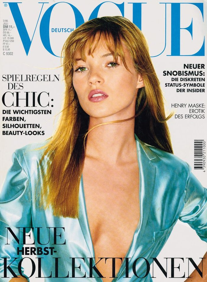 Κέιτ Μος: Η βασίλισσα ποζάρει γυμνόστηθη στη Vogue - εικόνα 5