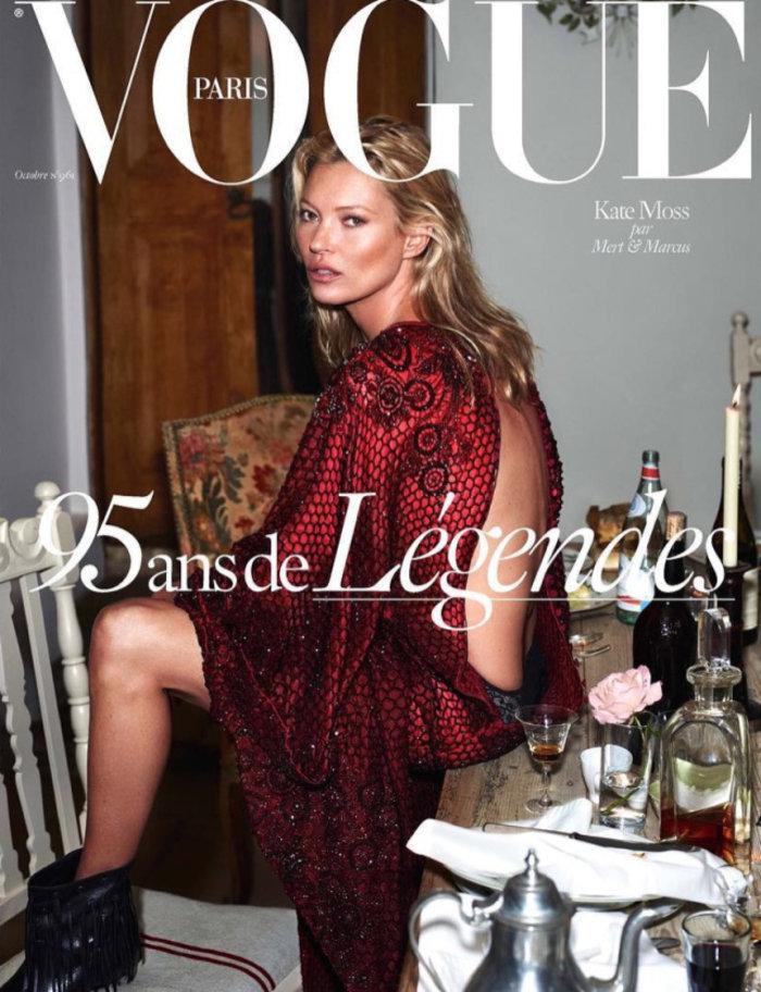 Κέιτ Μος: Η βασίλισσα ποζάρει γυμνόστηθη στη Vogue - εικόνα 11