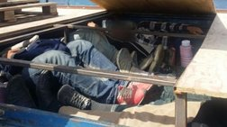Μετέφερε 17 μετανάστες σε μια κρύπτη στο φορτηγό του